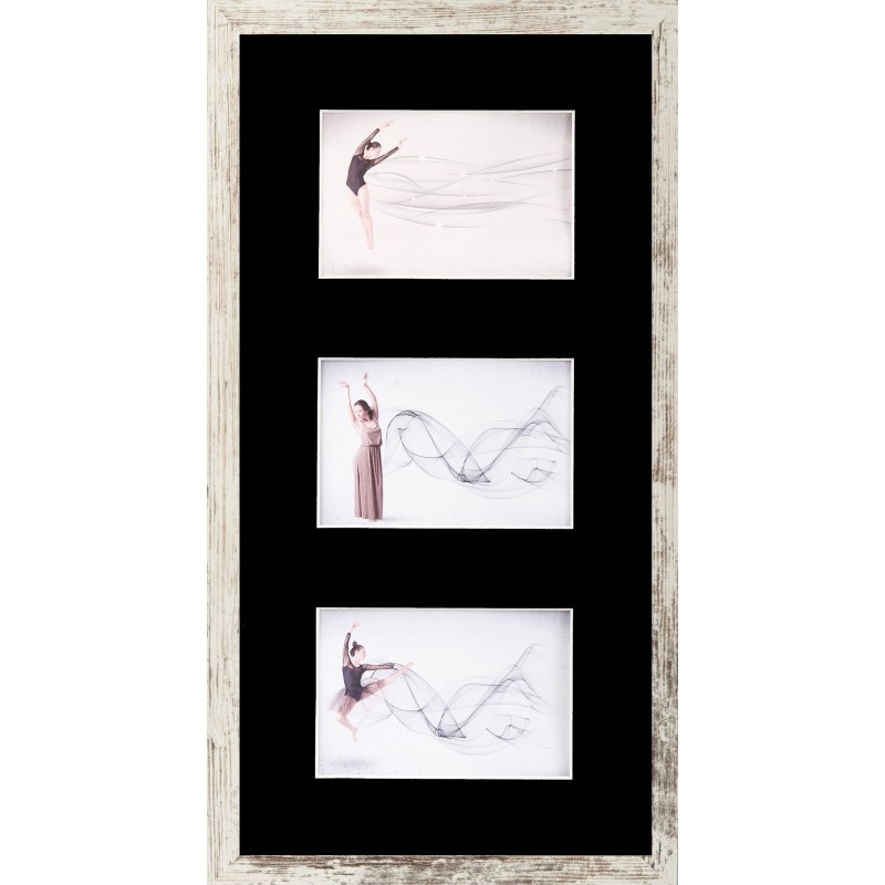 Photo Gallery Frame for 3 x 10x15cm (4x6\'\') 25 combinations ...