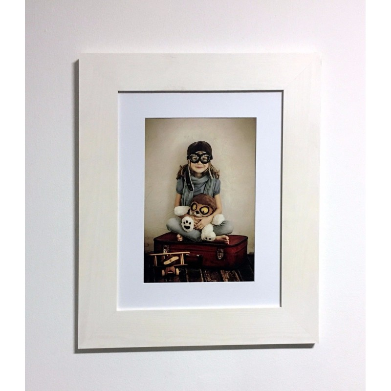 Photo Frame 30x40 cm With White Mount for A4 - 20x30cm new price